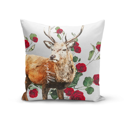 Personalised Deer Name Cushion
