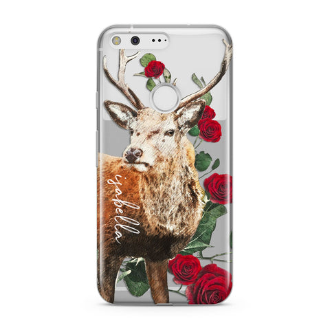 Personalised Deer Name Google Case