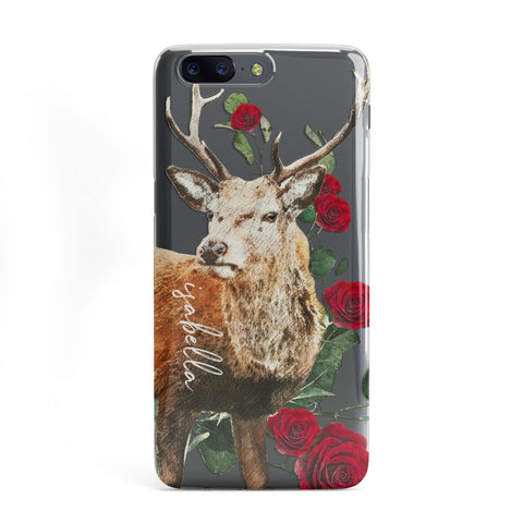 Personalised Deer Name OnePlus Case