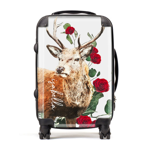 Personalised Deer Name Suitcase