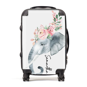 Personalised Elephant Suitcase