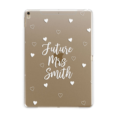 Personalised Future Mrs iPad Case