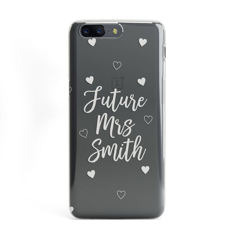 Personalised Future Mrs OnePlus Case