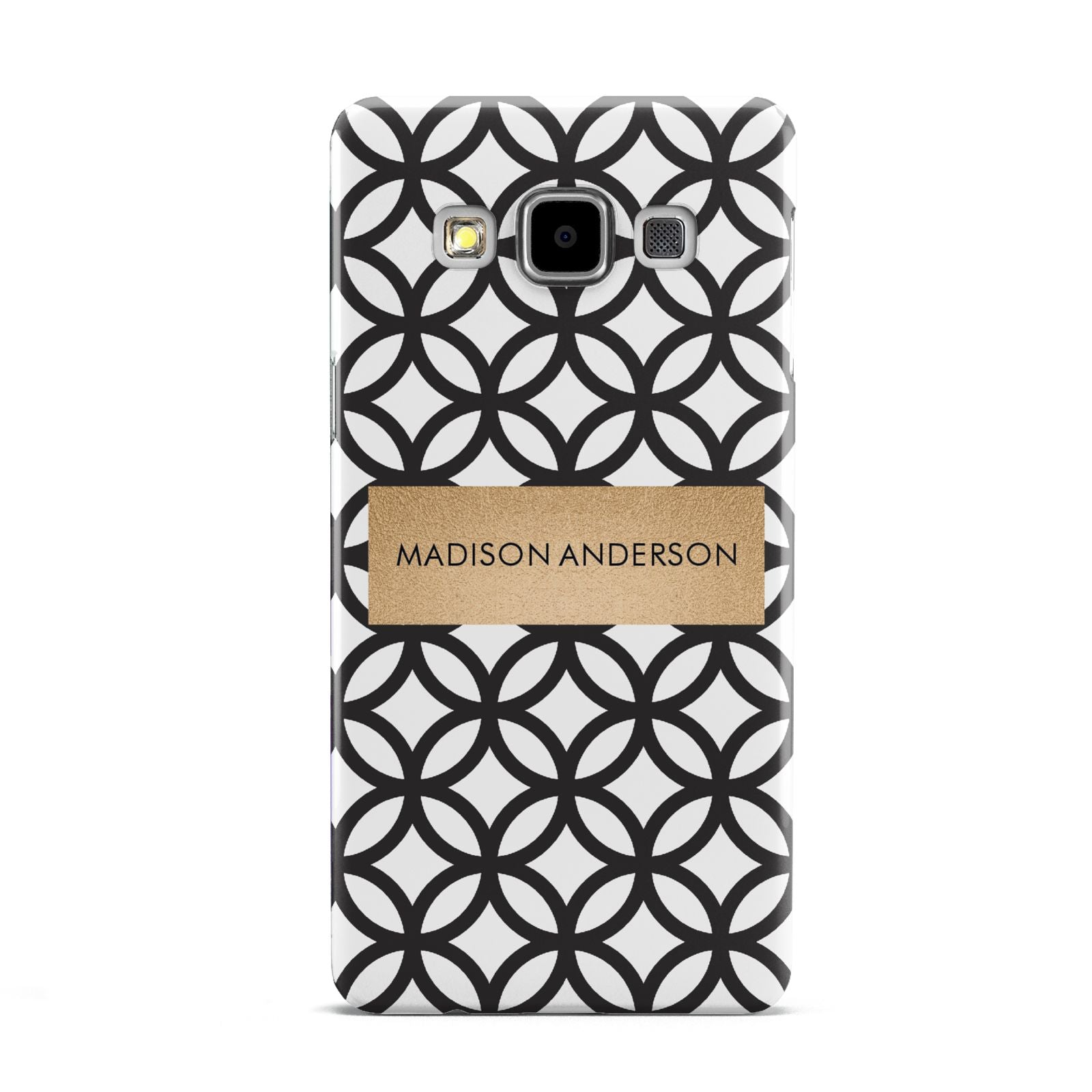 Personalised Geometric Name Or Initials Custom Samsung Galaxy A5 Case