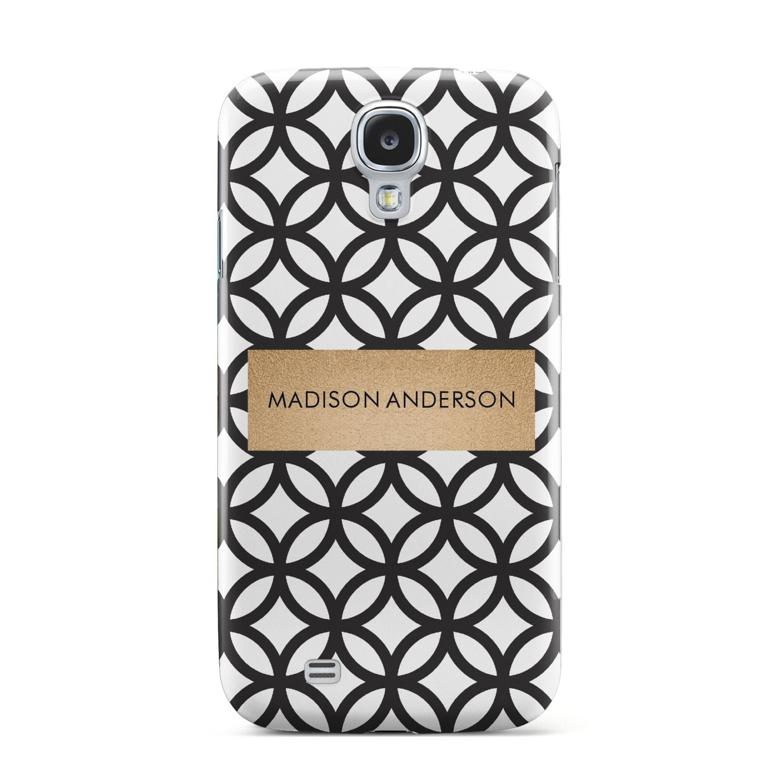 Personalised Geometric Name Or Initials Custom Samsung Galaxy S4 Case