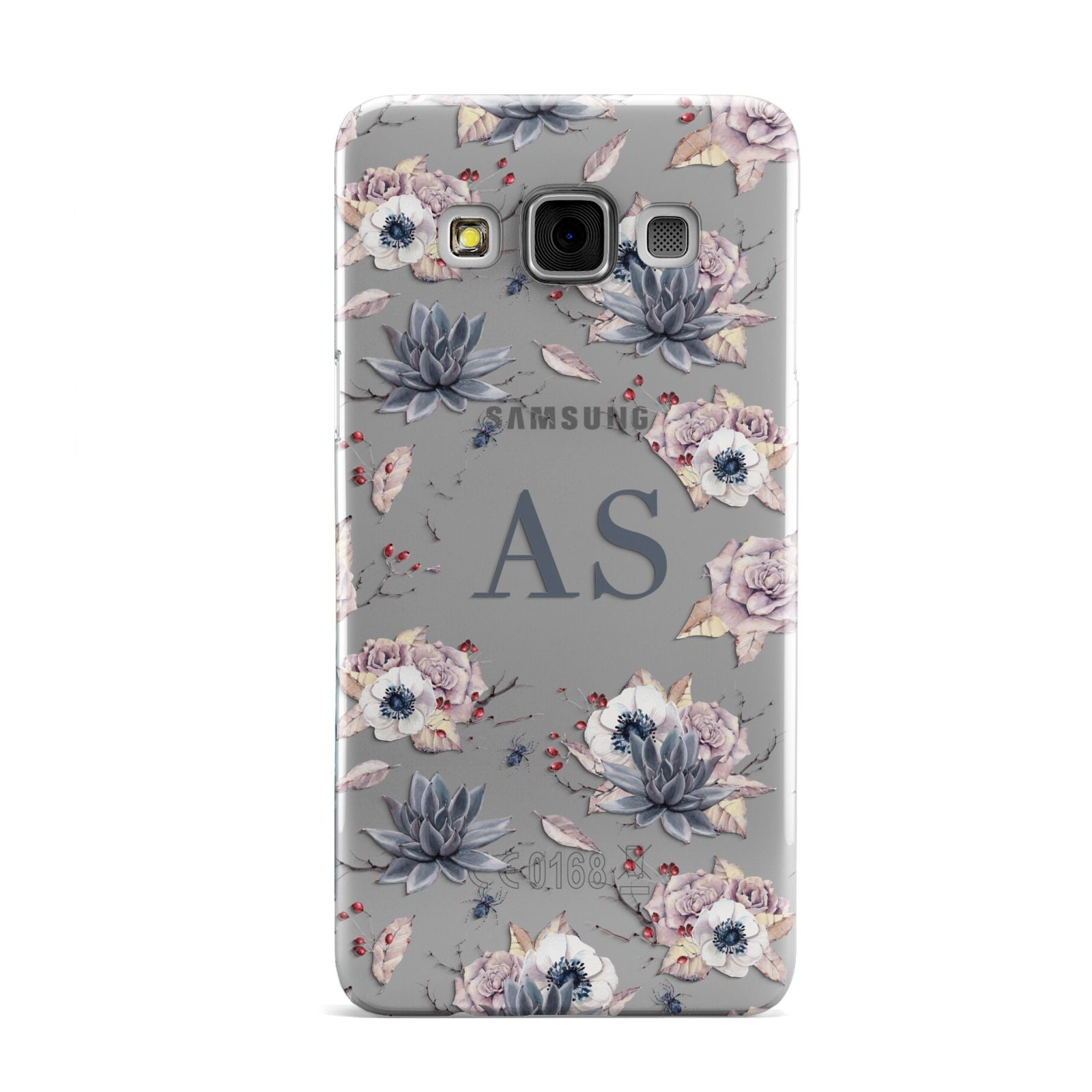 Personalised Halloween Floral Samsung Galaxy A3 Case