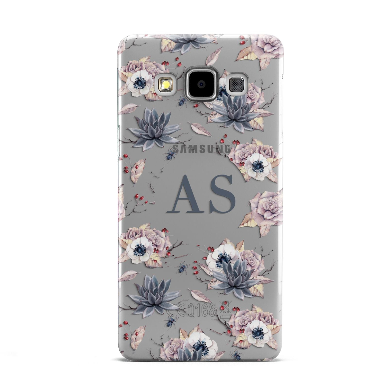 Personalised Halloween Floral Samsung Galaxy A5 Case