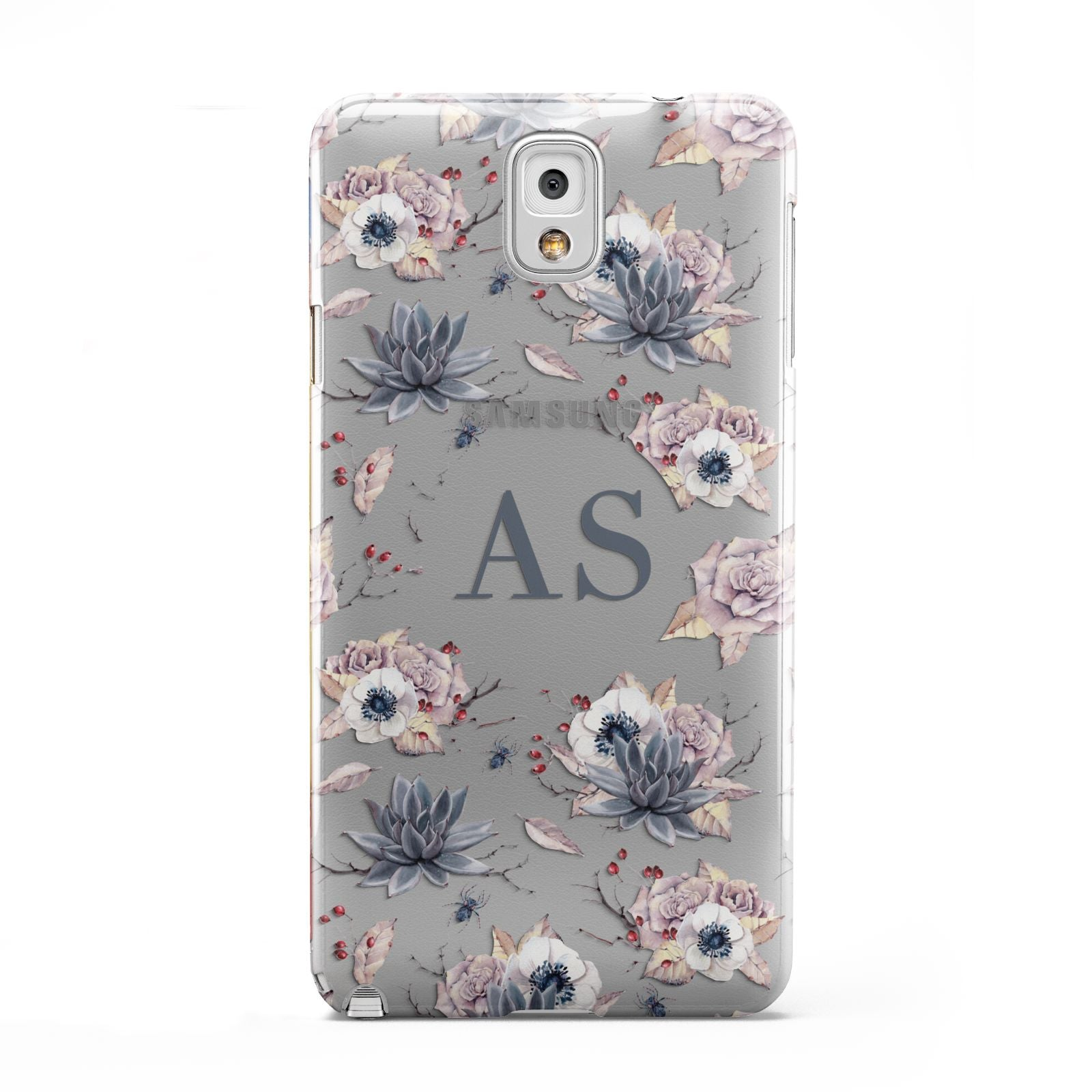 Personalised Halloween Floral Samsung Galaxy Note 3 Case