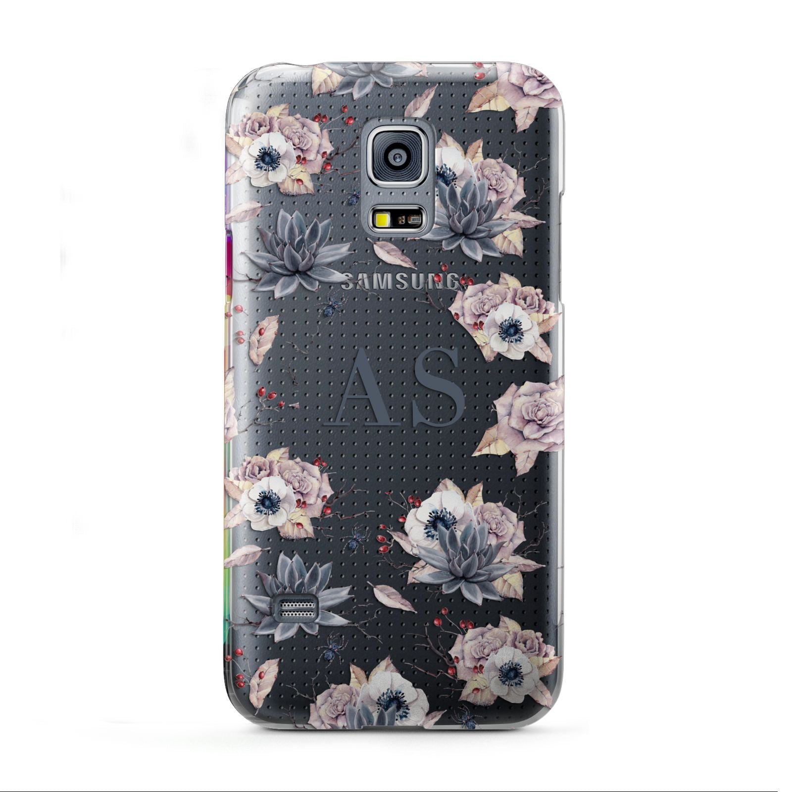 Personalised Halloween Floral Samsung Galaxy S5 Mini Case