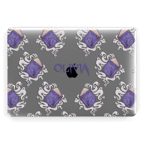 Personalised Halloween Magic Spell Apple Macbook Case