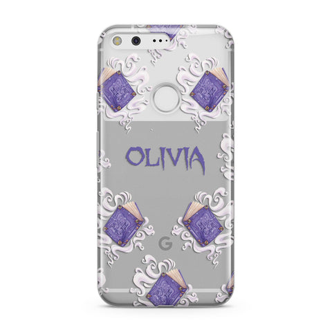 Personalised Halloween Magic Spell Google Case