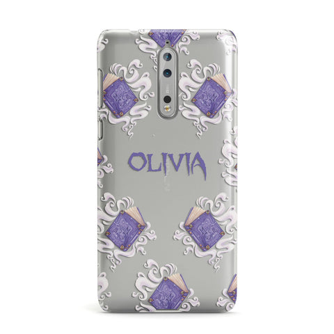 Personalised Halloween Magic Spell Nokia Case