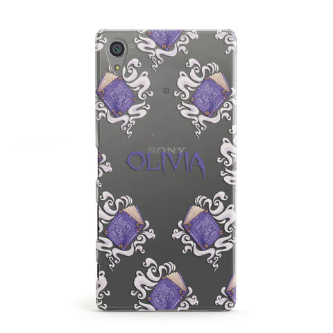 Personalised Halloween Magic Spell Sony Case