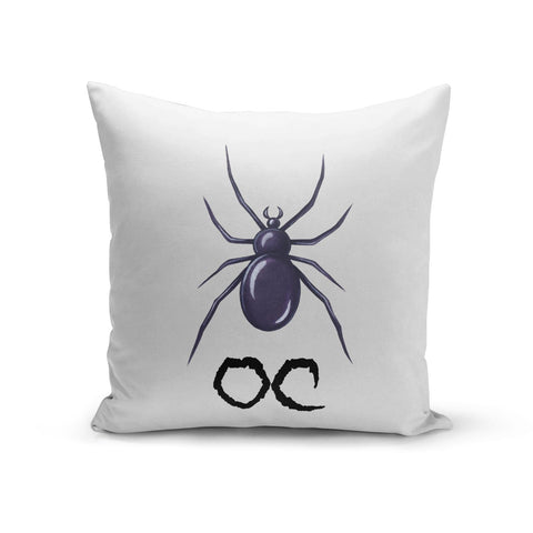 Personalised Halloween Spider Cushion