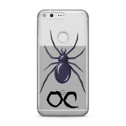 Personalised Halloween Spider Google Case