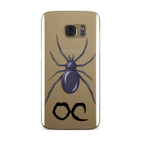 Personalised Halloween Spider Samsung Galaxy Case