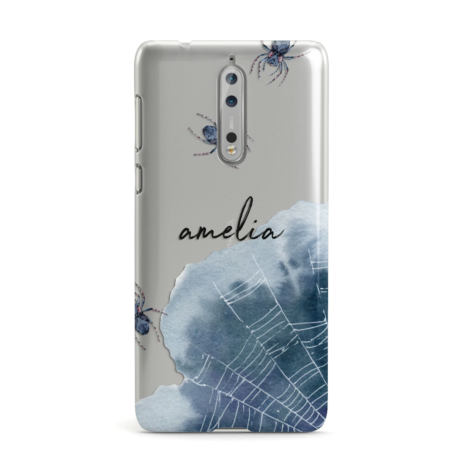 Personalised Halloween Spider Web Nokia Case