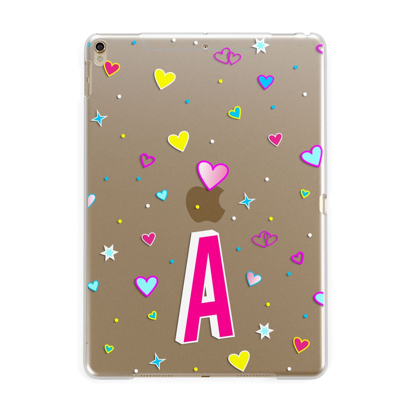 49b24e0185 Personalised-Heart-Alphabet-Clear-Apple-iPad -Gold-Case_2000x.jpg?v=1559825950