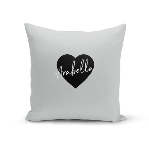 Personalised Heart Valentines Cushion