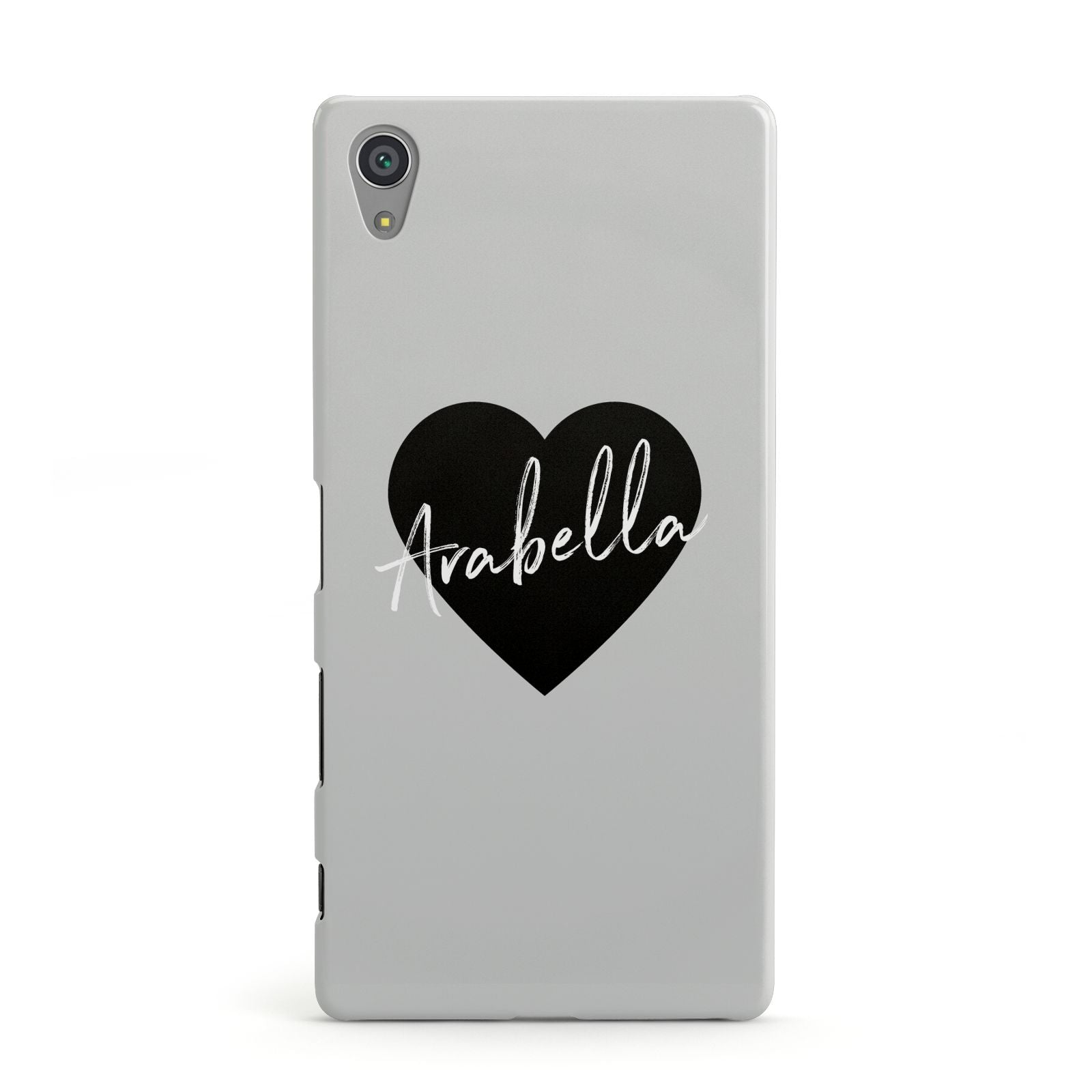 Personalised Heart Valentines Sony Xperia Case
