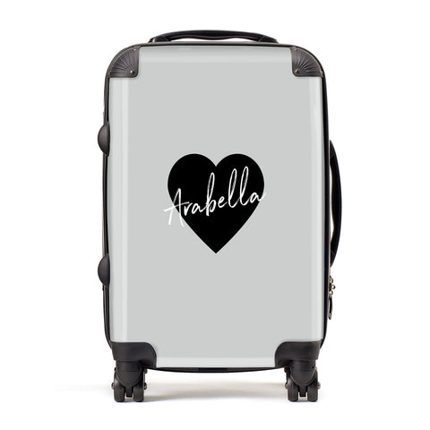 Personalised Heart Valentines Suitcase
