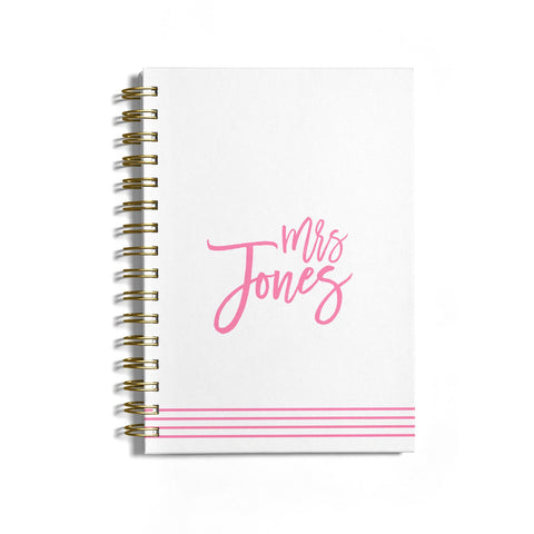 Personalised Hers Notebook