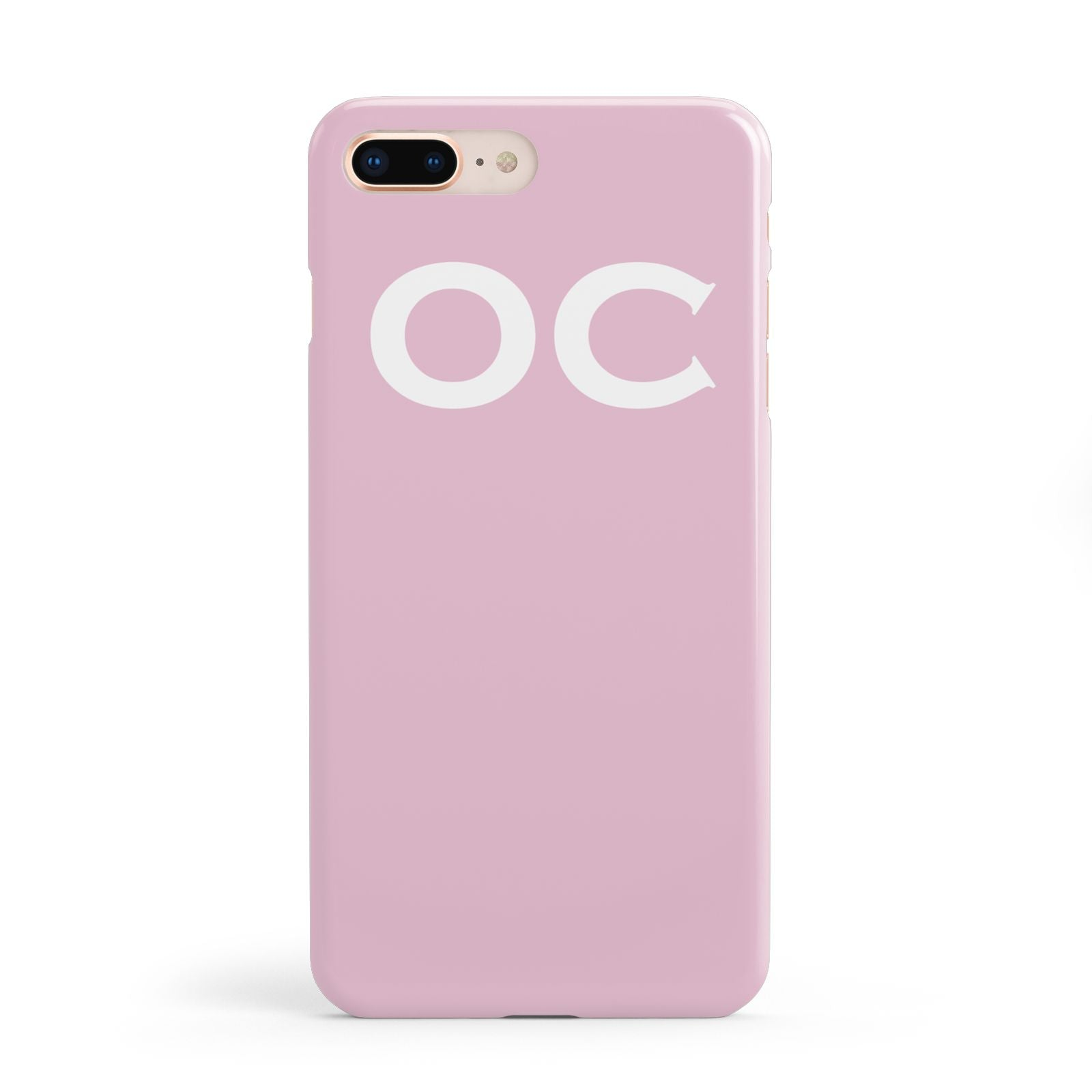 Personalised Initials 2 Apple iPhone 8 Plus Case