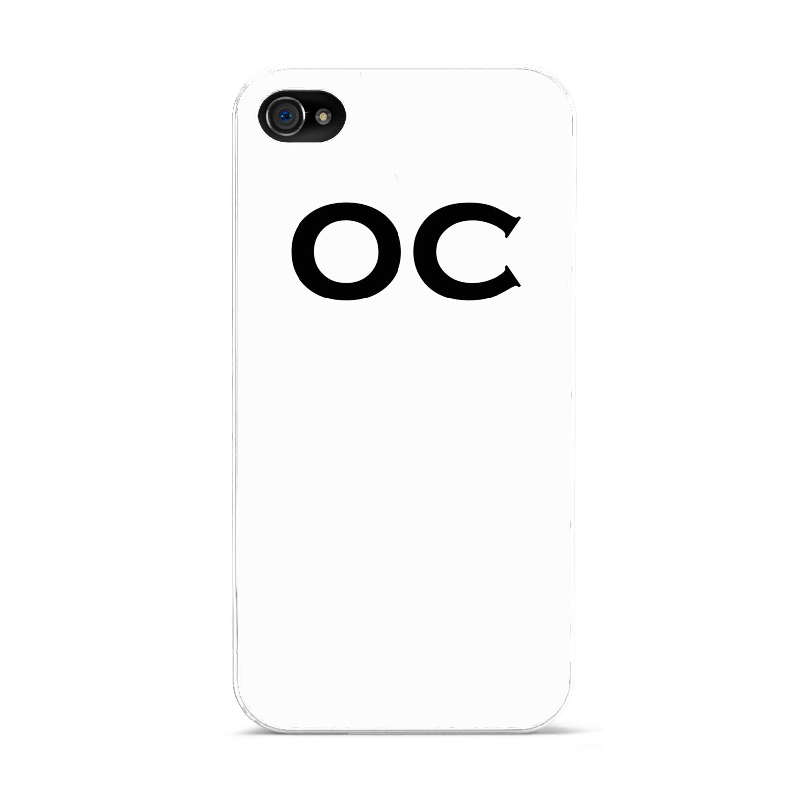 Personalised Initials 3 Apple iPhone 4s Case