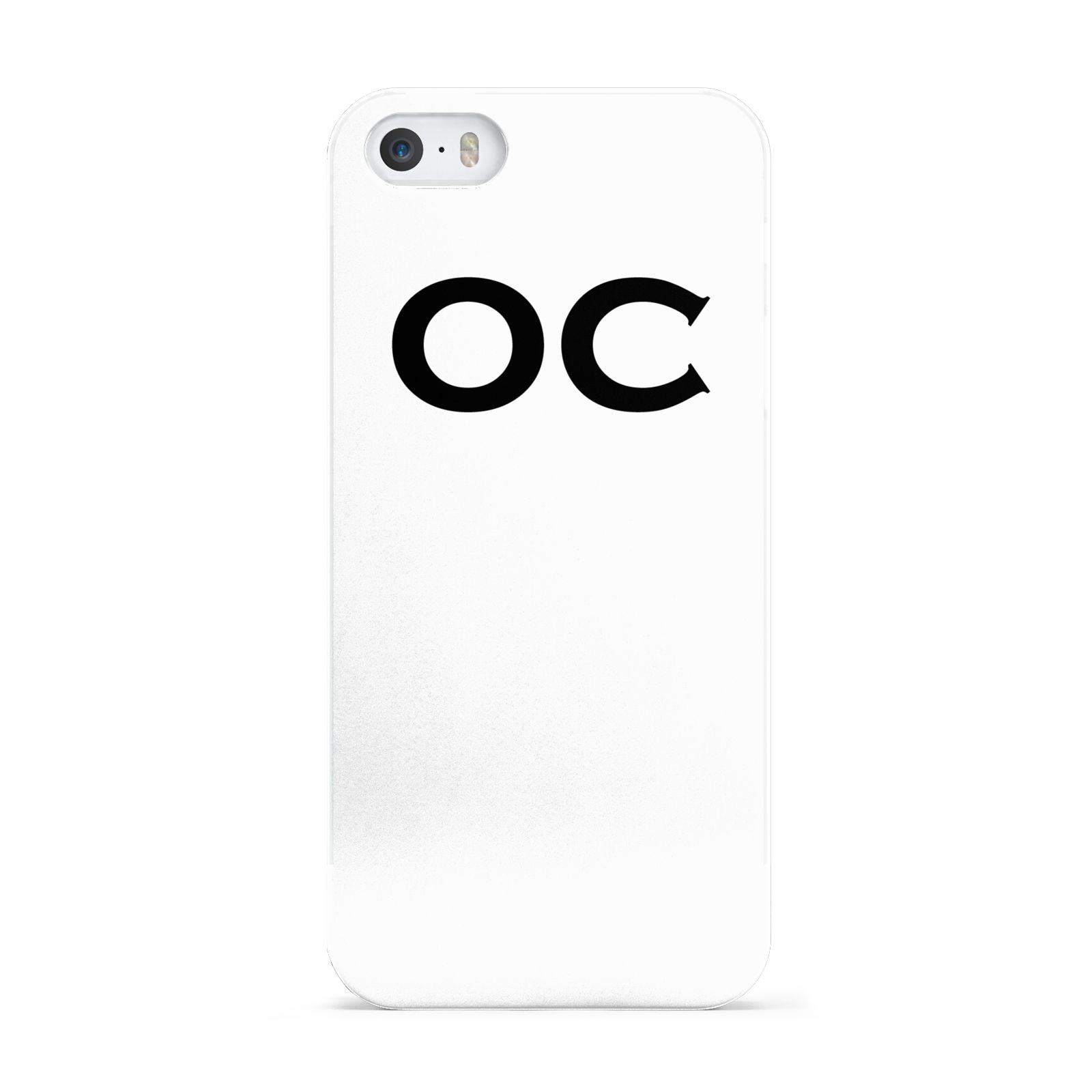 Personalised Initials 3 Apple iPhone 5 Case
