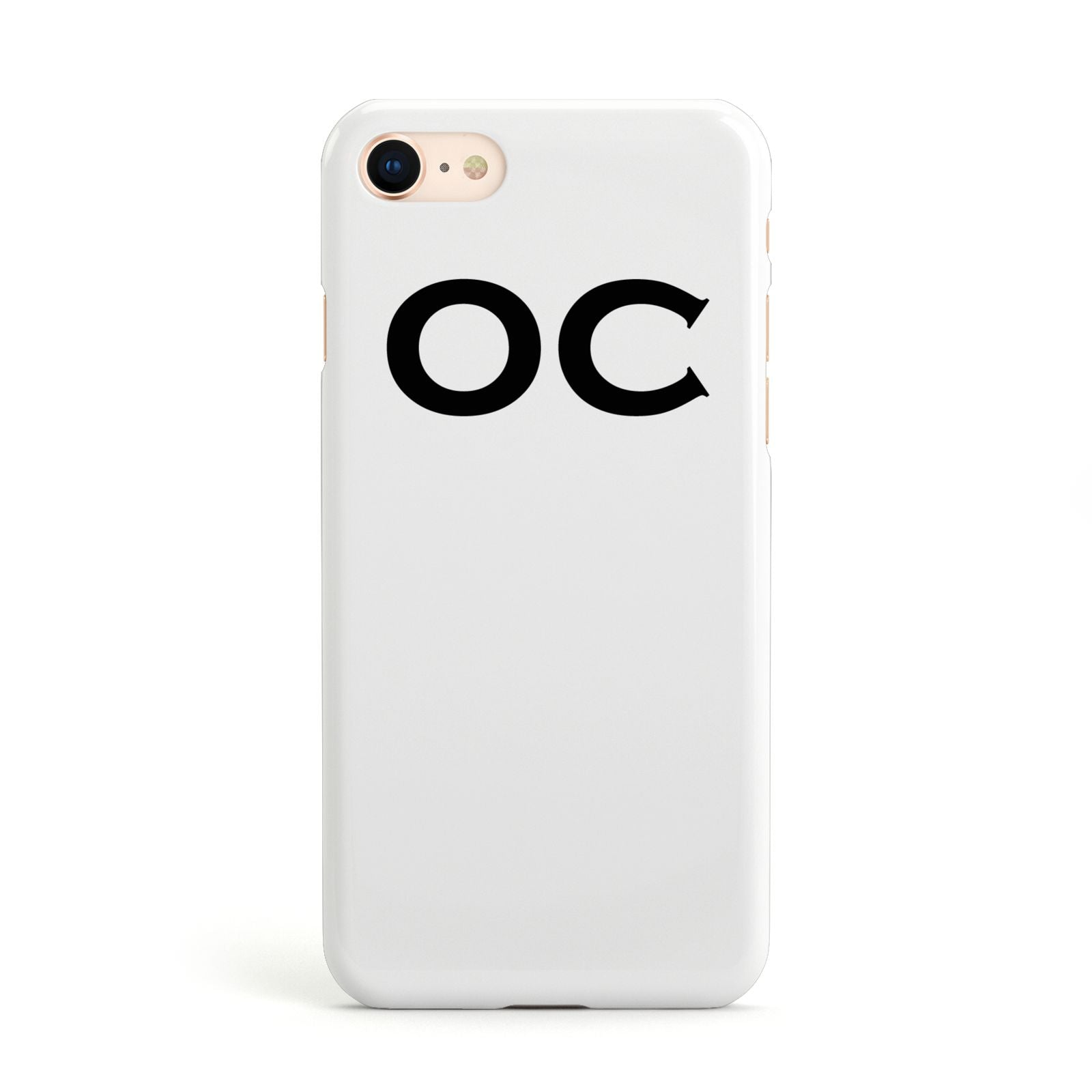 Personalised Initials 3 Apple iPhone Case
