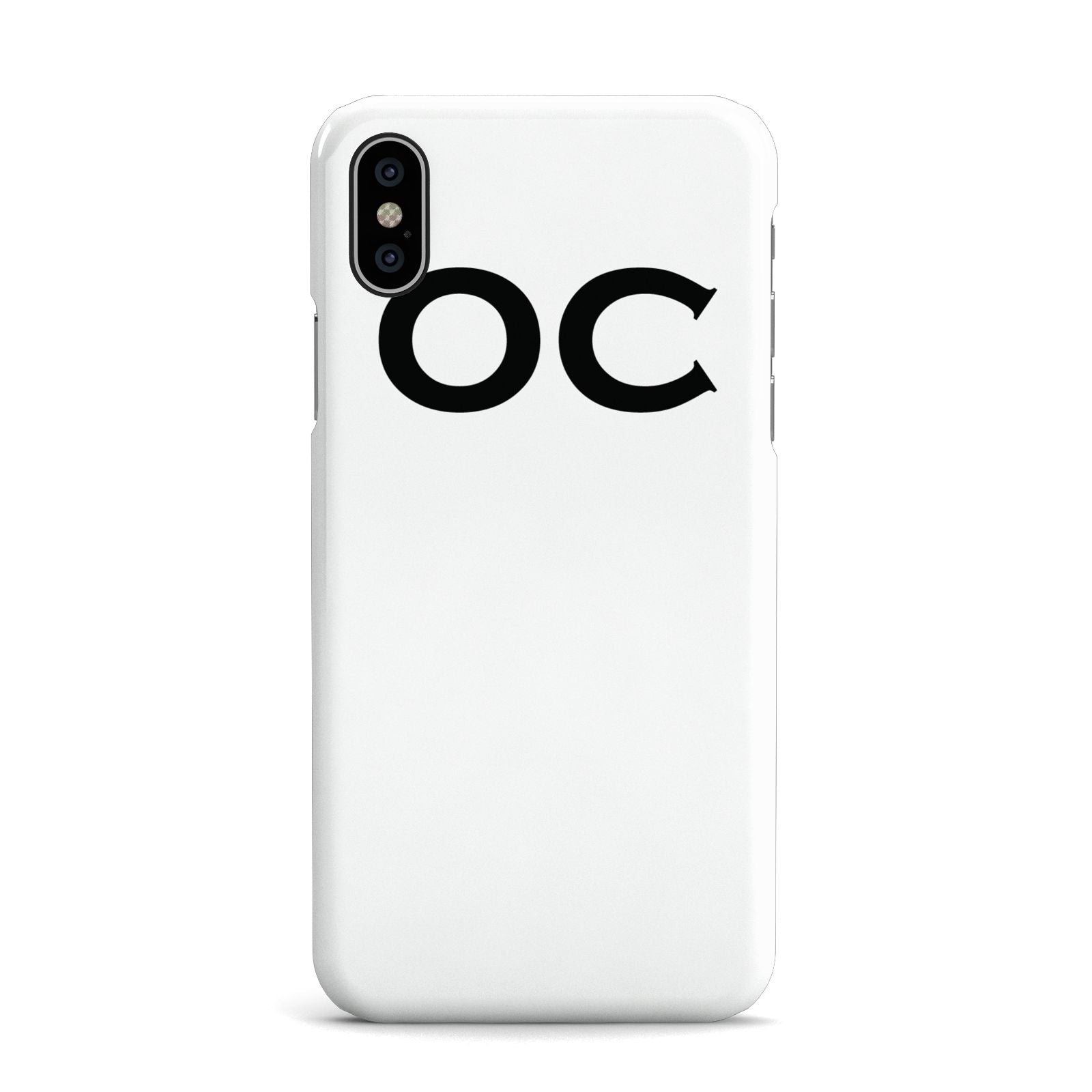 Personalised Initials 3 Apple iPhone X Case