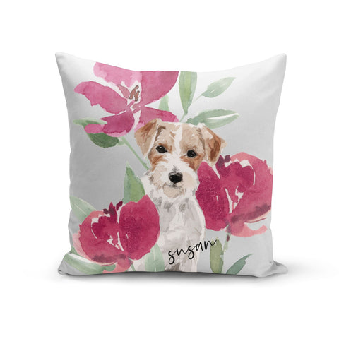 Personalised Jack Russel Cushion