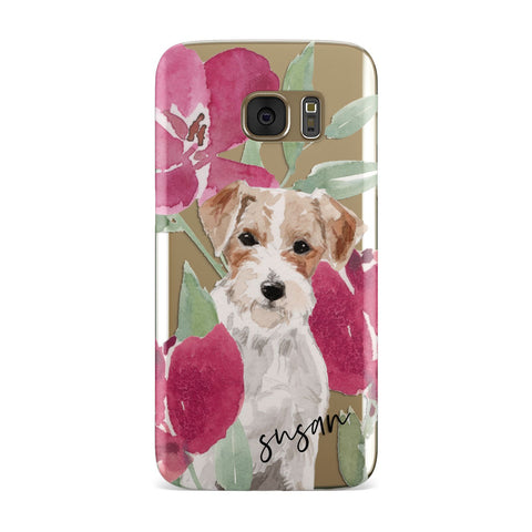 Personalised Jack Russel Samsung Galaxy Case