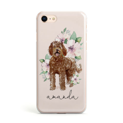 Personalised Labradoodle iPhone Case