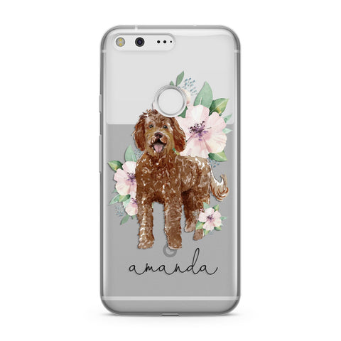 Personalised Labradoodle Google Case