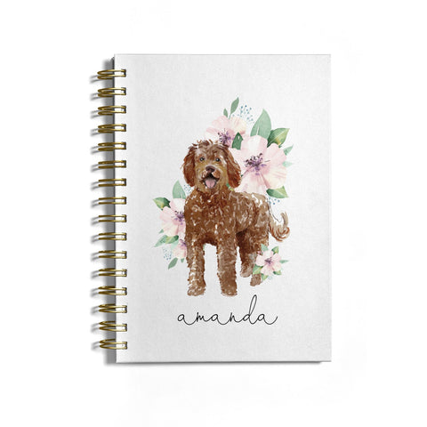 Personalised Labradoodle Notebook