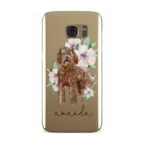Personalised Labradoodle Samsung Galaxy Case