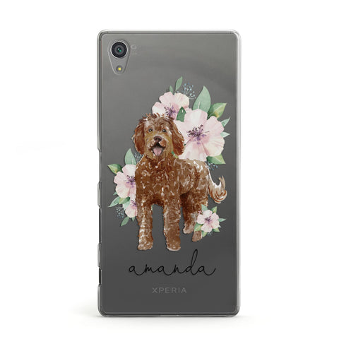 Personalised Labradoodle Sony Case