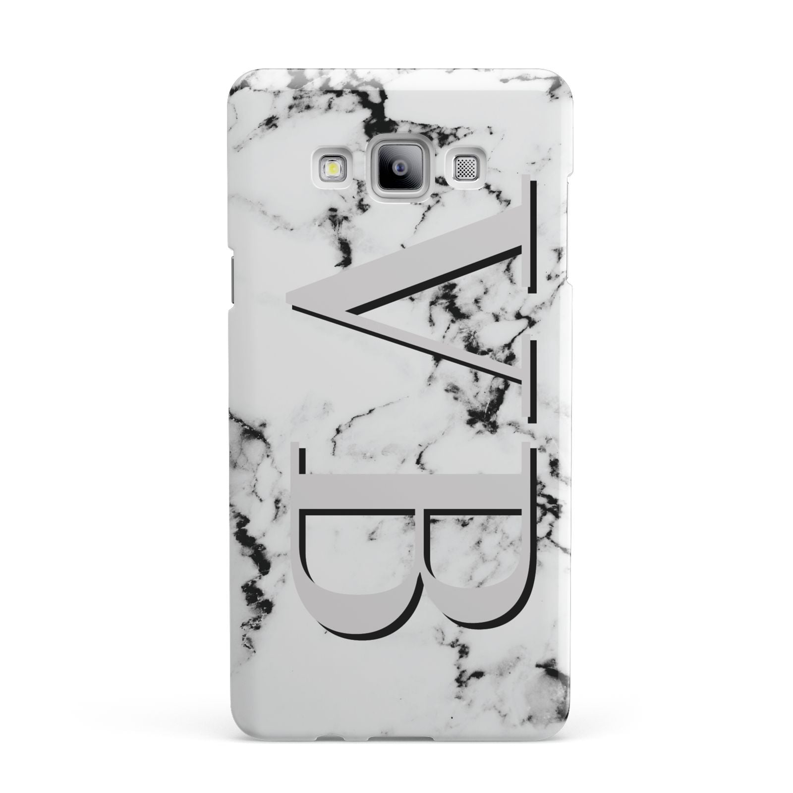 Personalised Landscape Initials With Marble Samsung Galaxy A7 2015 Case