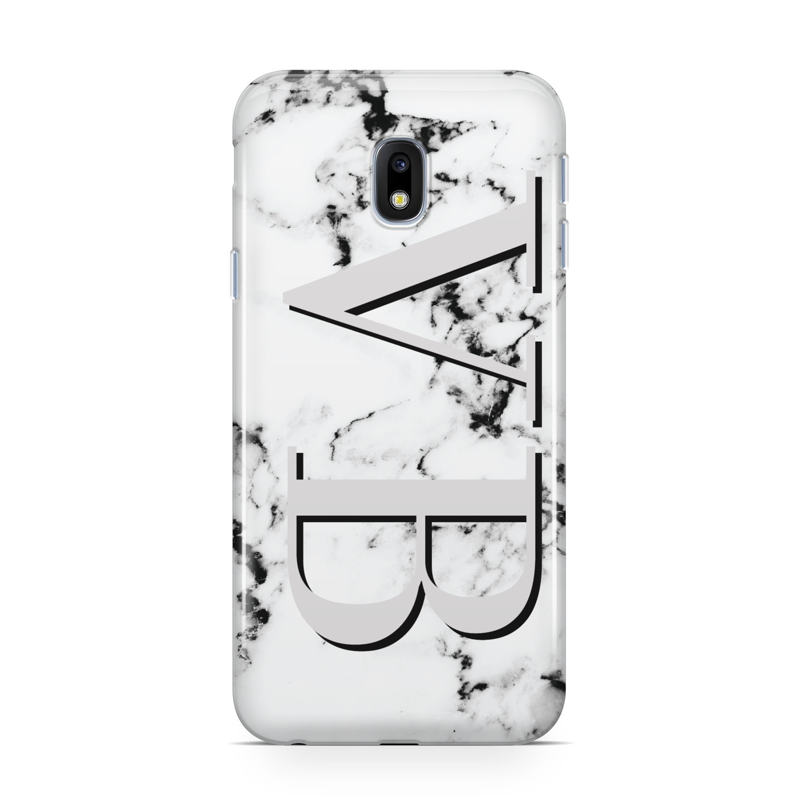 Personalised Landscape Initials With Marble Samsung Galaxy J3 2017 Case