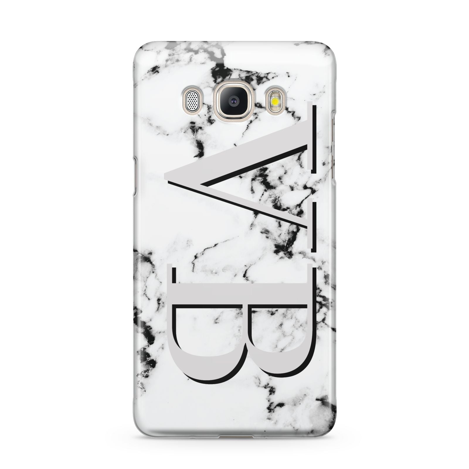Personalised Landscape Initials With Marble Samsung Galaxy J5 2016 Case