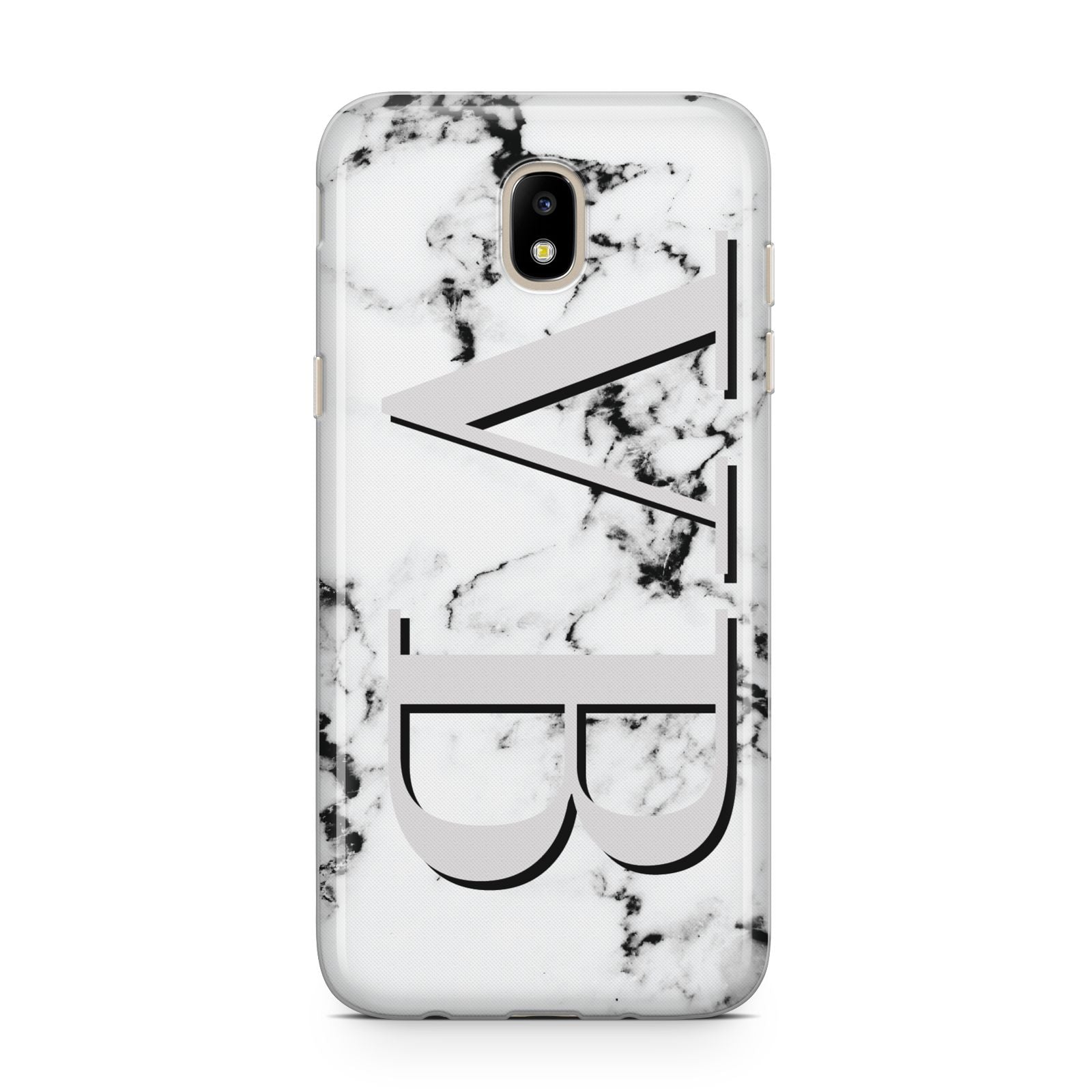 Personalised Landscape Initials With Marble Samsung J5 2017 Case
