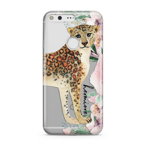 Personalised Leopard Google Case