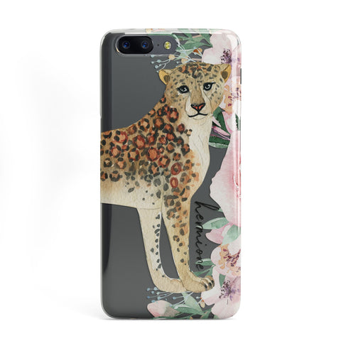 Personalised Leopard OnePlus Case