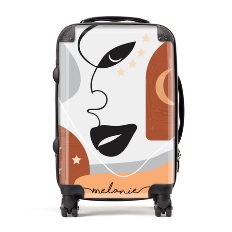 Personalised Line Art Suitcase