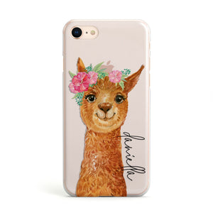 Personalised Llama Apple iPhone Case