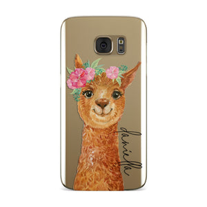 Personalised Llama Samsung Galaxy Case