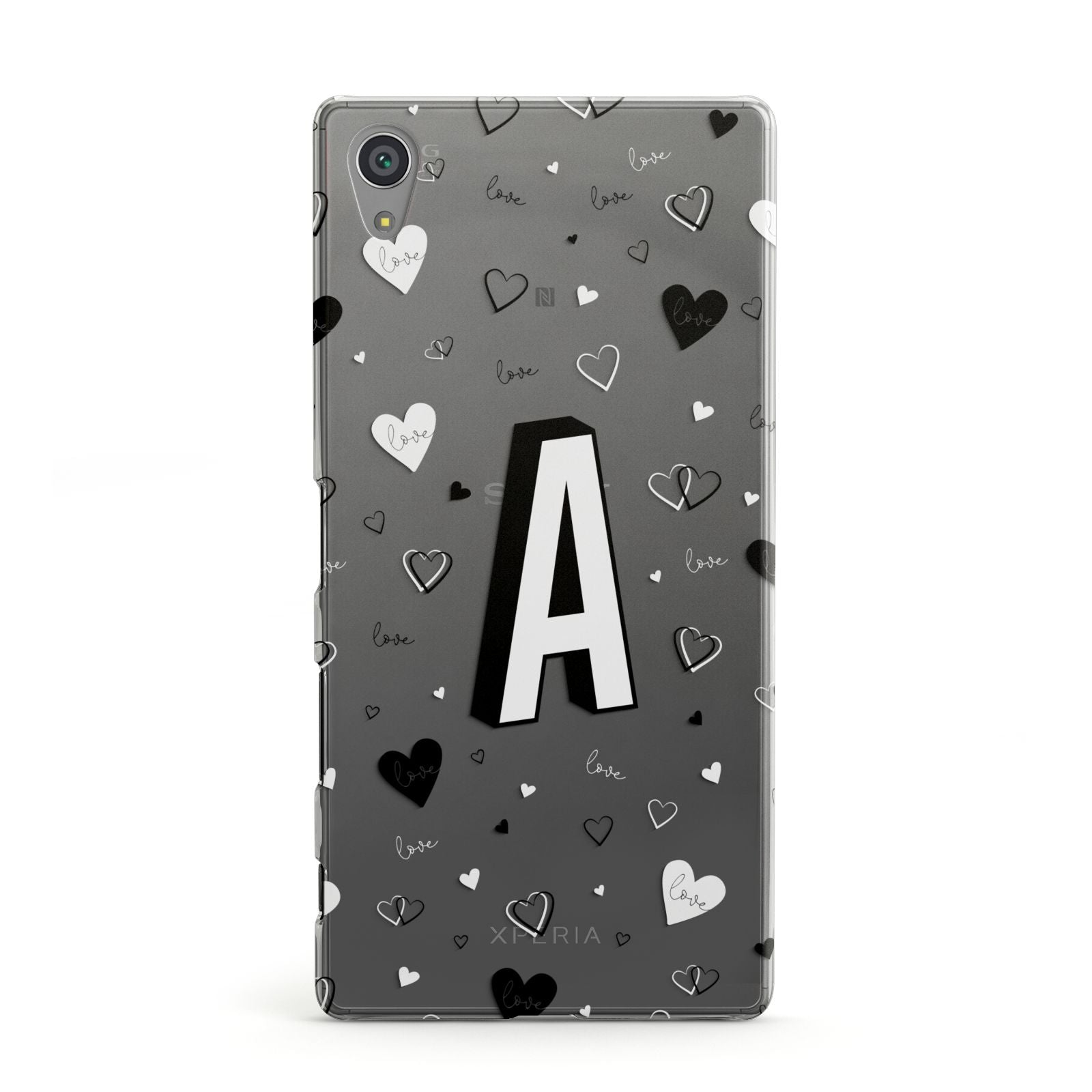 quality design 0ae87 0ef2d Personalised Love Alphabet Sony Case