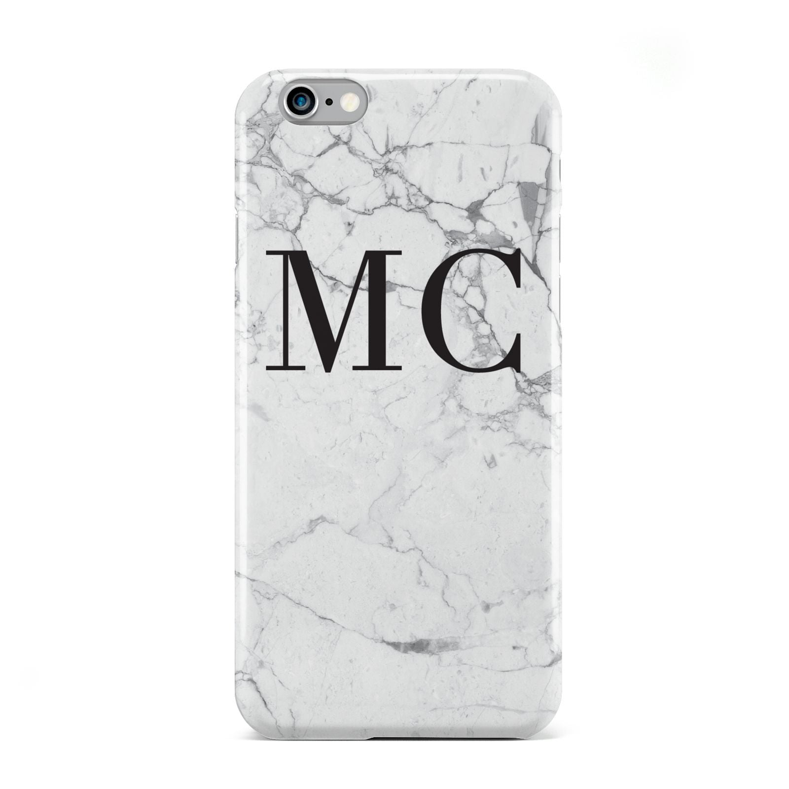 Personalised Marble Initials Apple iPhone 6 Case