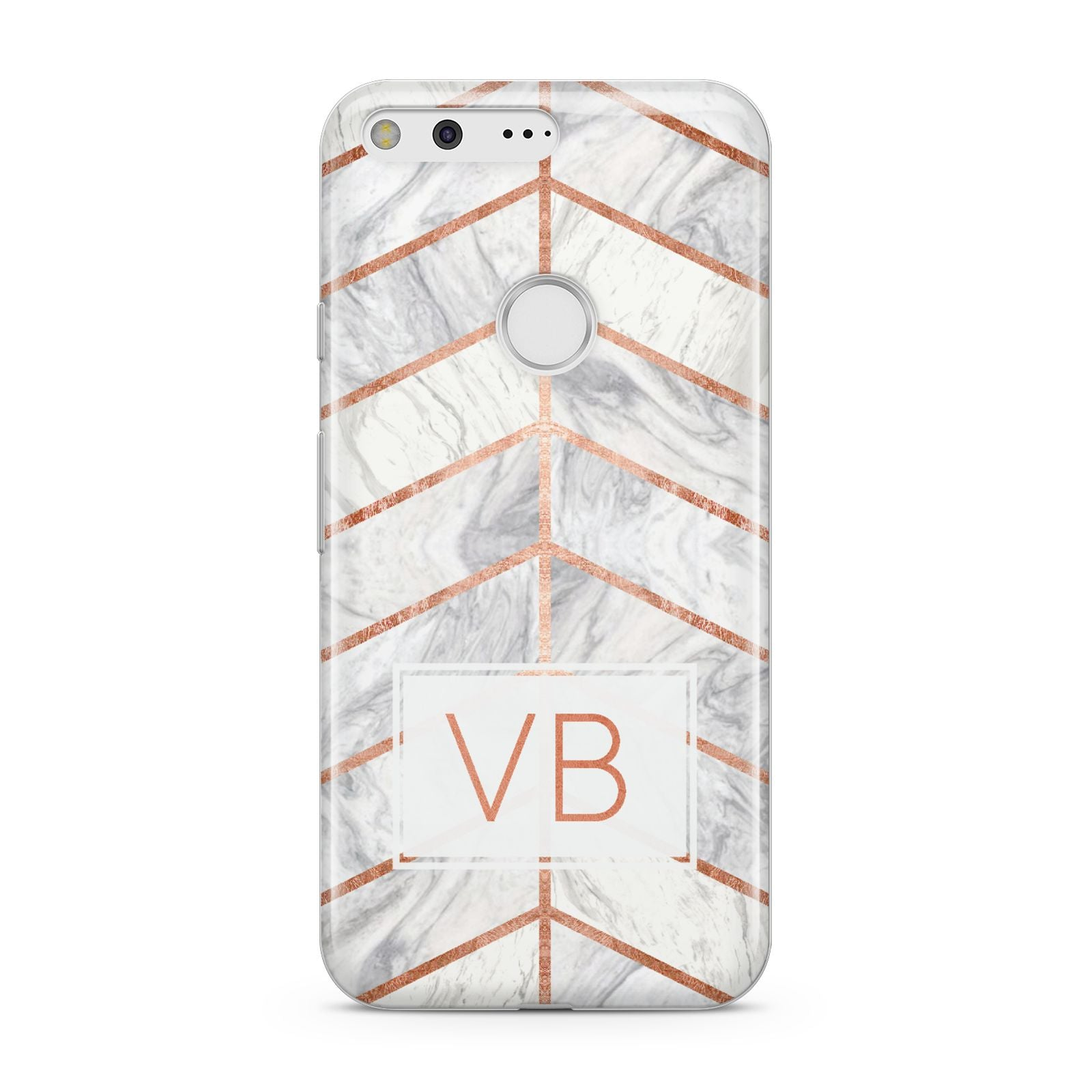 personalised marble initials shapes google case dyefor
